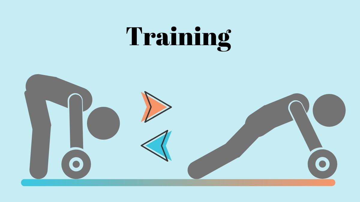 腹筋ローラーの効果的なトレーニング